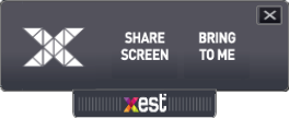 Xest Screen Share Menu 1