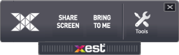 Xest Screen Share Menu 2