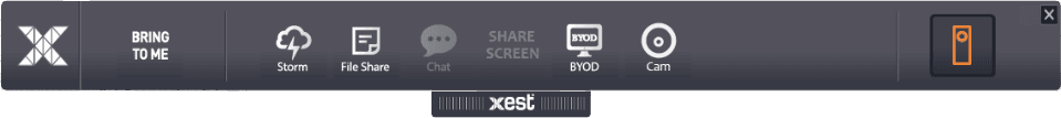 Xest Student Privacy Button